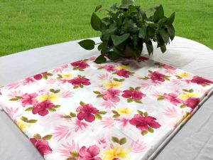 Polyester/Printed Pongee for Fitted Sheet