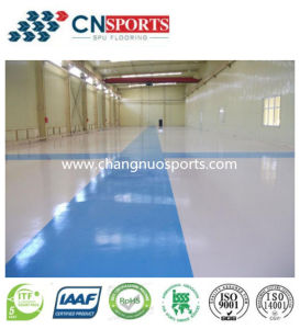 Good Quality and Simple Construction Seamless Flooring for Exhibition Center, Instrument Base, Museum Floor pictures & photos