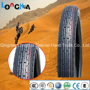 Natural Rubber 6pr Motorcycle Front Tire for Venezuela pictures & photos