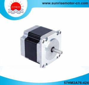57hm2a76 4.2A 150n. Cm NEMA23 0.9deg. 2 Phase Stepper Motor pictures & photos