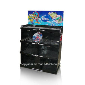 Black Color Display Shelf/Paper Floor Display pictures & photos