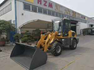 Cat Loader Used Loader 1.5ton Mini Loader for Sale Hot Sale Hzm916 Loader pictures & photos