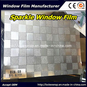 Decorative Sparkle Window Film Glass Window Film 1.22m*50m pictures & photos