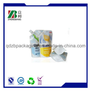 Liquid Stand up Pouch with Spout Packaging pictures & photos