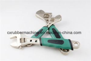Plastic Handle Stainless Steel Adjustable Spanner/Carbon Steel Monkey Wrench pictures & photos