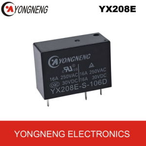 Subminiature Power Relay (16A) (YX208E-D/-L)