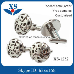 Hot Sale Stainless Steel Business Cufflink pictures & photos