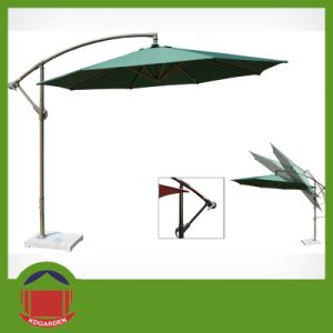Post Side Folding Umbrella pictures & photos