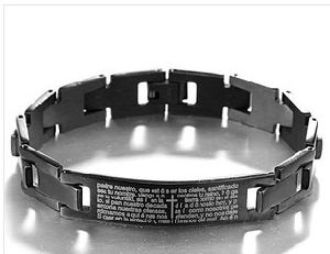 Black Stainless Steel Bracelet (XBL12322) pictures & photos