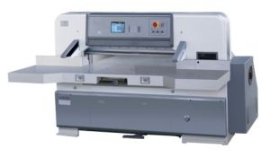 Hydraulic Program Paper Guillotine Machine with 8 Inch Computer (HSQZK2000) pictures & photos