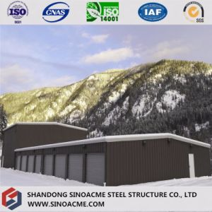 Prefab Steel Construction Warehouse with Two-Floor Office pictures & photos