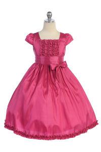 Customize Hot Popular Nice Lovely Flower Girl /Children Dress 7143