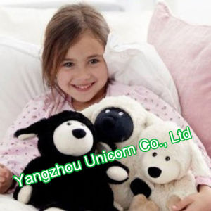 CE Soft Stuffed Animal Plush Toy Black Goat pictures & photos