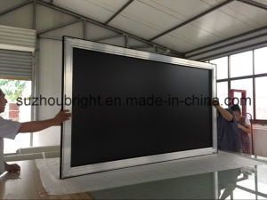 Fixed Frame Projector Screen with Black Velvet Frame pictures & photos