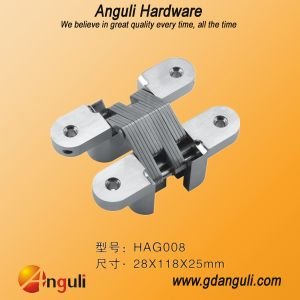 Cross Hinge for Door or Cabinet/Hinges/Invisible Hinge/Metal Hinge/Zinc Alloy Hinge (28*118) pictures & photos