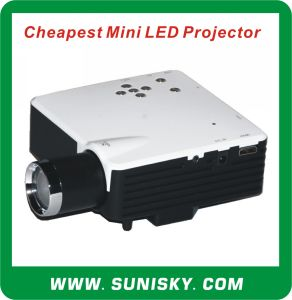Smp7043 Cheap USD33 Mini LED Projector pictures & photos