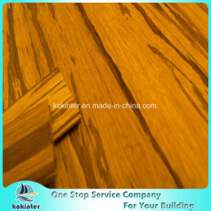Amber Grain Strand Woven Heavy Bamboo Flooring Indoor-Click System pictures & photos