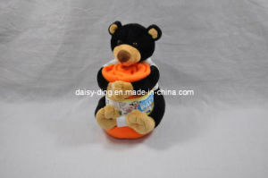 Plush Cute Teddy Bear with Blanket pictures & photos