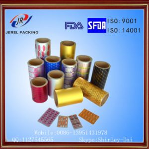 Pharmaceutical Coated Treatment Ptp Aluminum Foil pictures & photos