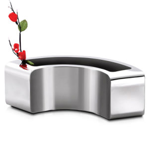 304 New Garden Decoration Metal Planter Stainless Steel Flower Pot