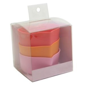 PVC Plastic Packaging Box with Die Cut Handle for Bowl pictures & photos