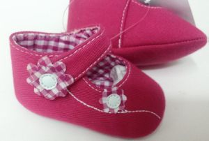 Purple Baby Shoes Ws17514 pictures & photos