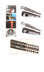 Conical Twin Screw and Barrel for Extruder pictures & photos