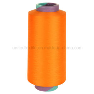 100% Polyester Dope Dyed DTY Yarn for 100d/36f SD Nim A Grade pictures & photos
