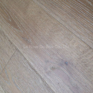 French Oak Hand Scraped Wood Parquet in CD Grade (02)