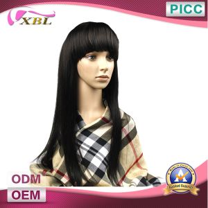 Xbl Full Lace Natural Human Hair Wig pictures & photos