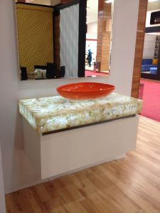 Decorative Acrylic Stone Panel for Basin Top (ZC-2006) pictures & photos