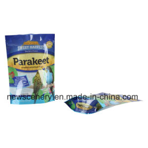Stand up Pouch with Zipper/Plastic Zip Lock Bag/Zipper for Doypack with Window Wholesale