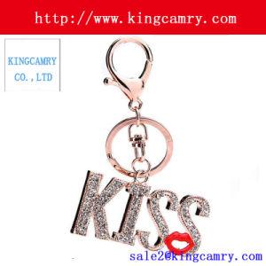 Bag Trim Rhinestone Charm Pendant Bag Purse Key Ring pictures & photos