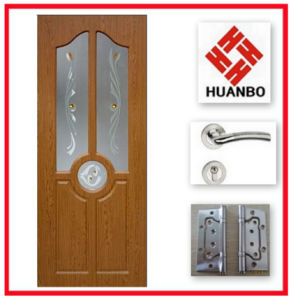 High Quality Popular Design PVC MDF Bedroom Door Hb-009