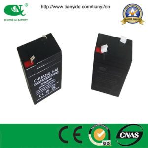 AGM Recharge Battery 6V4ah Power Lead Acid Battery