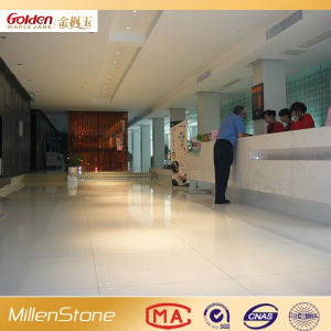 White Engineering Stone for Flooring