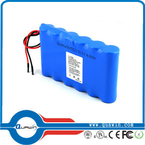 11.1V 4800mAh Lithium Battery Pack pictures & photos