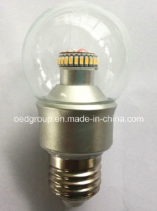 4W 300 Degree LED Global Bulblight with 3014SMD and E14 B22 E27 Base pictures & photos