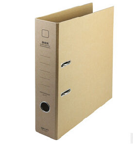 Recycled Brown Kraft Paper Lever Arch File pictures & photos
