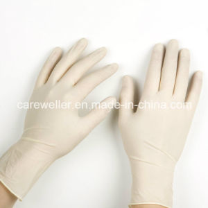 Disposable Latex Surgical Gloves Powdered pictures & photos