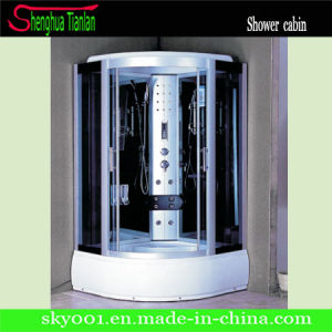 Quadrant Sliding Glass Touch Screen Modular Computerized Steam Shower Cabin (TL-8848) pictures & photos