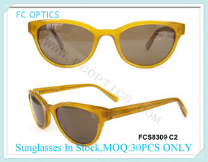 Popular Acetate Stock Sunglasses for Boy pictures & photos