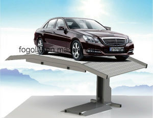 Single Post Car Lift Car Elevator for Underground Parking Garage pictures & photos