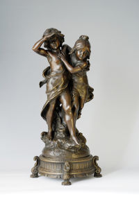 Europe Classical Series Bronze Sculpture (EP-051)