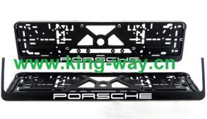 PP Plastic European License Plate Frame (Detachable)