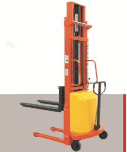 1t-2t Semi-Electric Power Stacker (SEM) pictures & photos