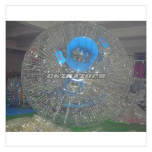 Custom Made Transparent PVC Inflatable Roller Ball with Logo pictures & photos