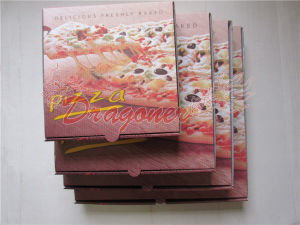 Pizza Boxes, Corrugated Bakery Box (CCB024) pictures & photos