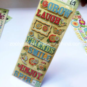 Customize 3D Dimensional Handmade Paper Craft Stickers pictures & photos