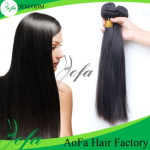 Aofa Hair Factory 100% Unprocessed Brazilian Human Remy Hair pictures & photos